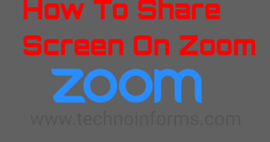 How To Share Screen On Zoom