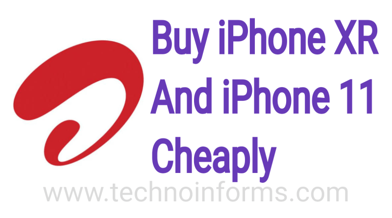 Buy iPhone XR and iPhone 11 cheaply