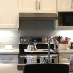 Kitchen Refacing Breakfast Bar Techno Cabinet Refacers Of Vaughan Oakville