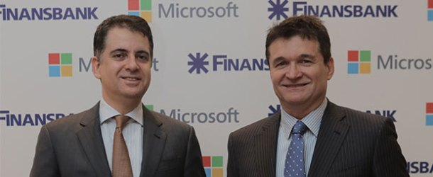 Microsoft ve Finansbank'tan 'KOBİ Tablet'