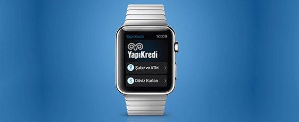 Yapı Kredi'den Apple Watch için uygulama