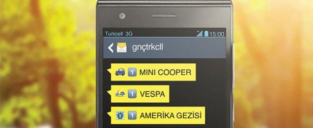 gnçtrkcll'den gelen SMS'lerde boş yok