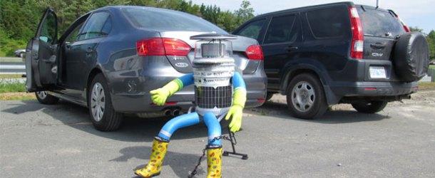 Otostopçu robot hitchBOT ABD'de saldırıya uğradı