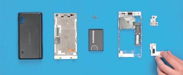 Kullanıcıların tamir edebileceği yeni akıllı telefon