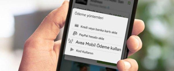 Avea'dan Google Play'den alışveriş yapan müşterilerine kampanya