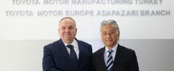 Toyota Otomotiv Sanayi Türkiye'de görev değişimi