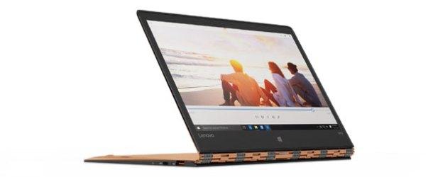 En ince ikisi bir arada bilgisayar Lenovo YOGA 900S #CES2016