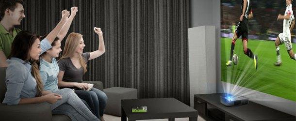 LG LED Smart projektör ile evde sinema deneyimi