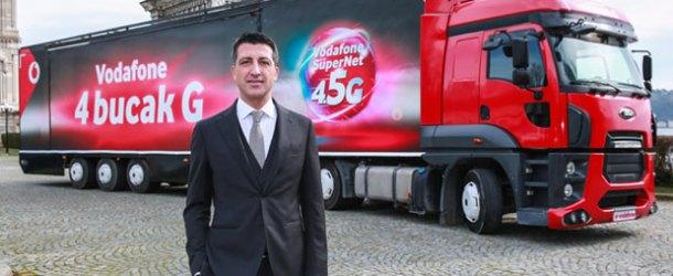 Vodafone'un '4BUCAKG' TIR'ı yola çıkıyor