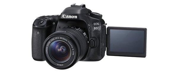Canon'un yeni yetenek avcısı: EOS 80D