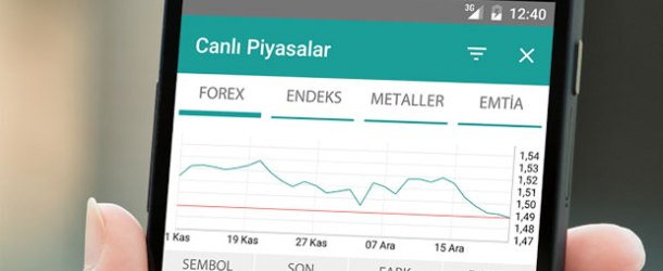 InvestAZ iOS ve Android'de!