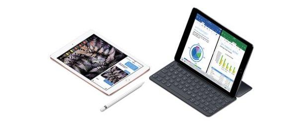 Apple, profesyoneller için 9.7 inç iPad Pro'yu tanıttı