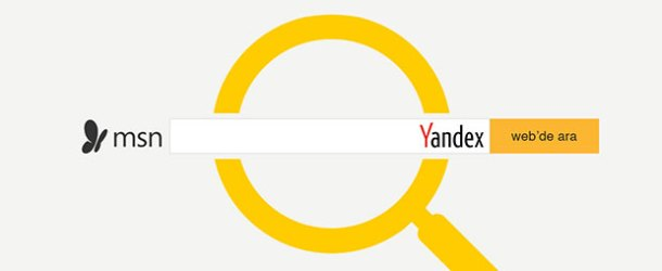 Microsoft, varsayılan arama motoru olarak Yandex'i seçti