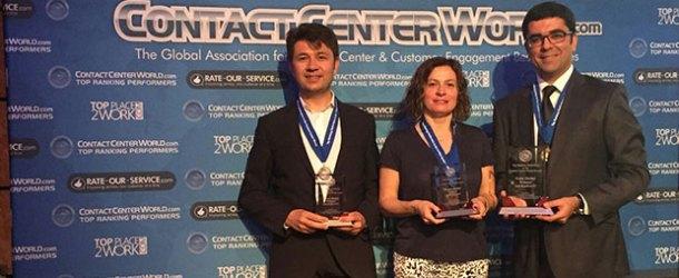 AssisTT, EMEA bölgesinin en iyi çağrı merkezi seçildi