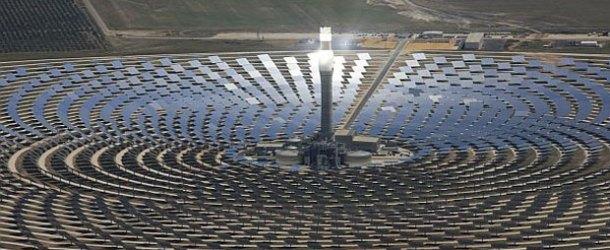İsrail'in umudu güneş enerji kulesinde