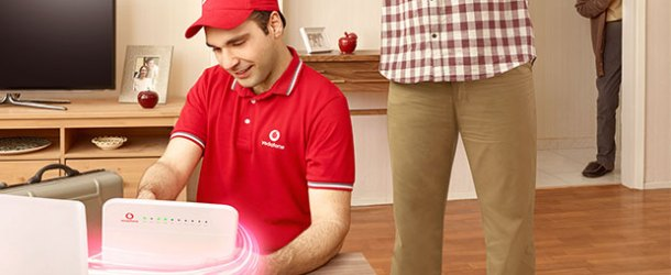 Vodafone SüperNet'te ilk ay ev interneti hediye