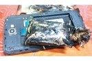 Samsung Note 2 uçakta alev aldı