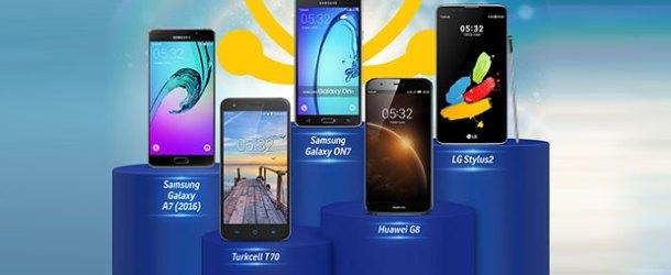 Akıllı telefonlar 36 ay taksitle Turkcell'de