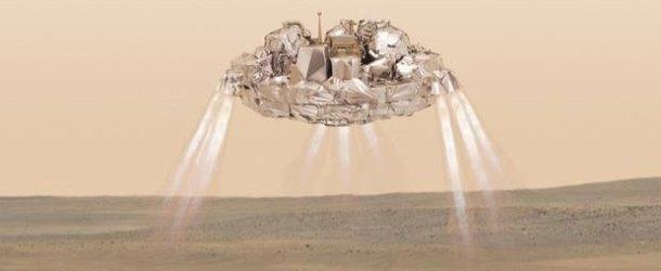 Mars'ta kaybolan Schiaparelli'yi NASA buldu