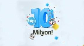 BiP 10 milyon indirilme sayısını aştı