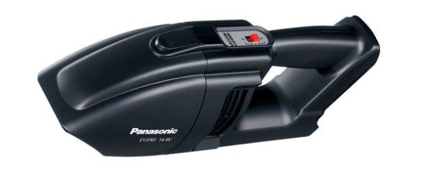 Panasonic'ten pratik akülü el süpürgesi