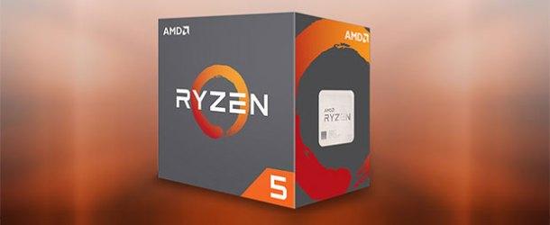 6 çekirdekli işlemci AMD Ryzen R5 piyasada