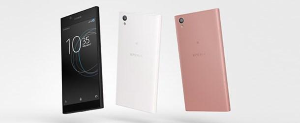 Sony Xperia XA1 ve Xperia L1 Türkiye'de