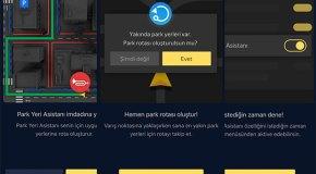 Yandex Navigasyon'dan Park Yeri Asistanı