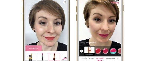 L'Oréal'den ücretsiz sanal makyaj uygulaması