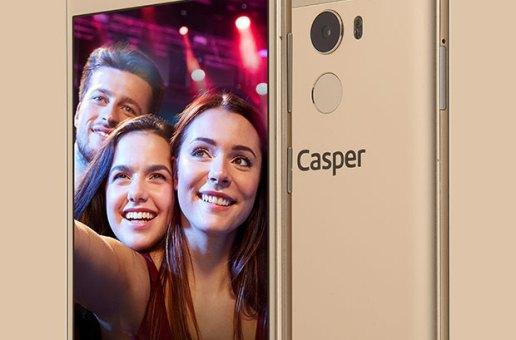 Casper'ın 20 MP ön kameralı telefonu: VIA P2