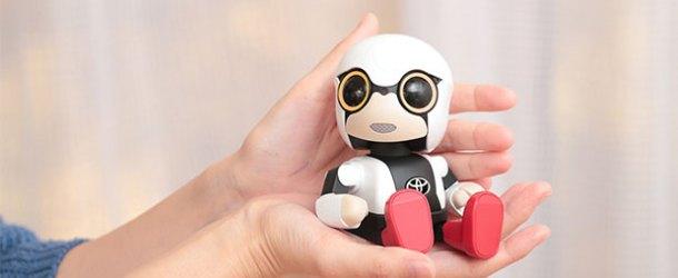 Toyota'nın arkadaş robotu Kirobo Mini piyasada