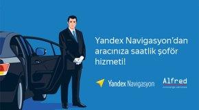 Yandex Navigasyon'dan özel şoför hizmeti