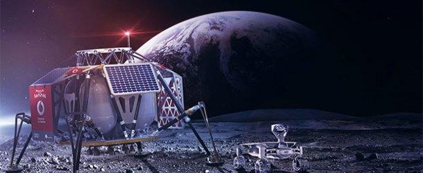 Ay yüzeyine ilk 4G şebekesi Vodafone'dan