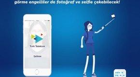 Görme engelliler EyeSense ile selfie çekebilecek