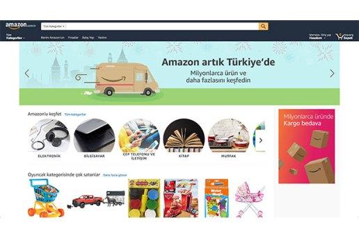 Amazon Türkiye internet mağazası satışa başladı