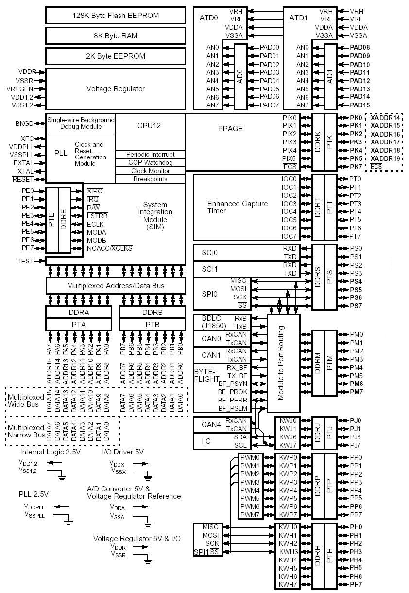 Using Your Adapt9S12D Microcontroller Module