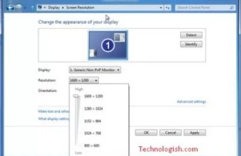 How To Change The Resolution In Different Windows