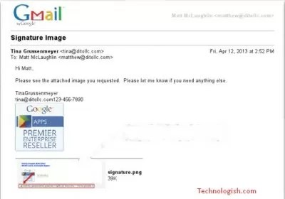 Attach Email In Gmail