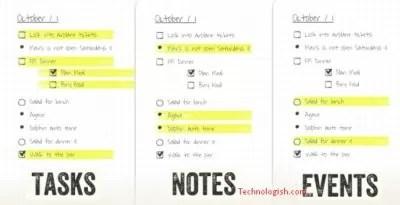 Bullet journal Apps