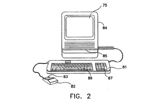 Apple Patents Original Mac