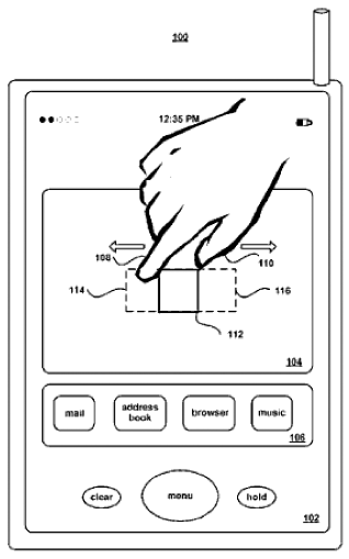 Apple Multi-Touch Patent