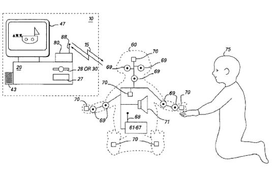 Microsoft Actimates Patent