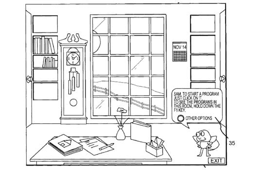 Real World Interface Patent