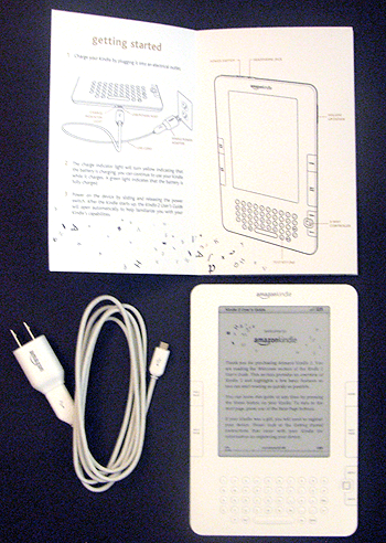 Kindle 2 Unboxing