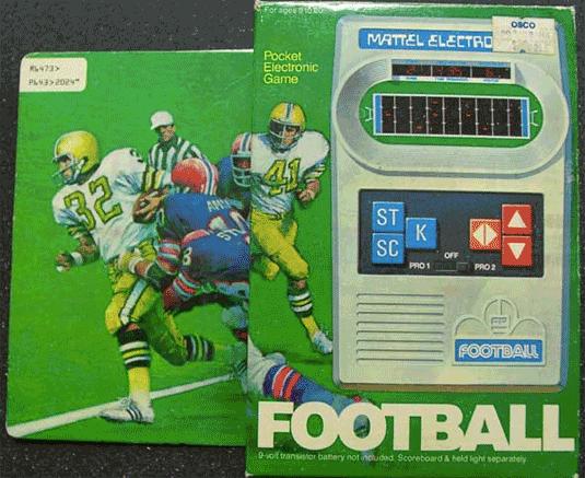 Mattel Football I
