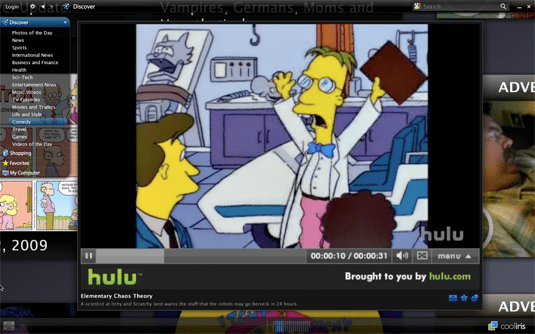 Cooliris The Simpsons