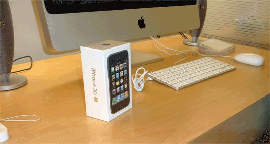 iPhone 3G S, Still Shrinkwrapped