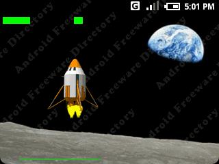 Lunar Lander - Android 2007