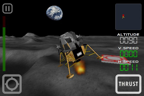 Lunar Module 3D - iPhone