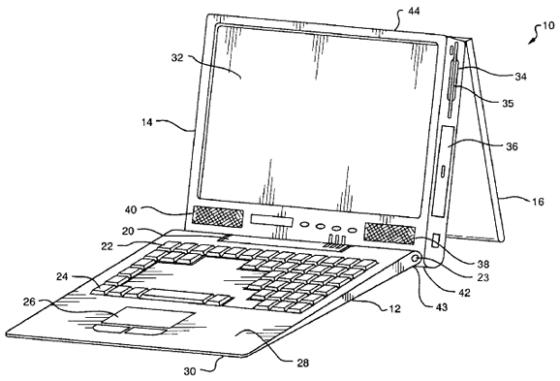 Accordion laptop
